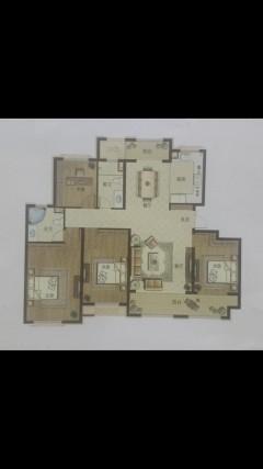 (城西)绿城雲和院4室2厅2卫160m²精装修