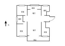 (城西)旭景园3室2厅1卫130m²毛坯房带院子带活动室